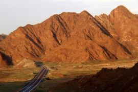 Mountains near Masafi